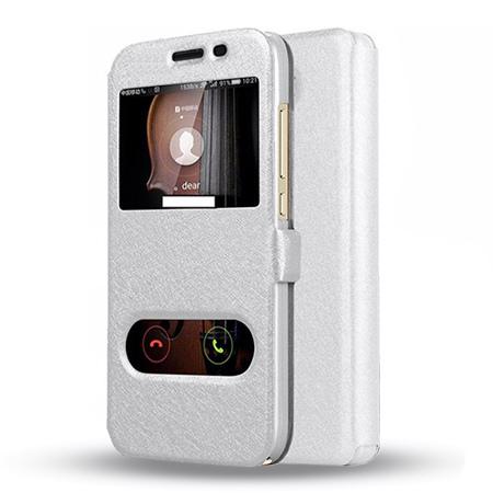 Etui na Huawei Y5 II - Flip Quick View z klapką dwa okienka - Biały.