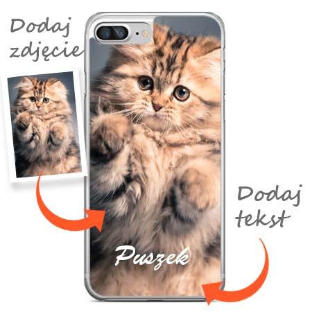 Apple iPhone 7 plus - zaprojektuj swoje etui z nadrukiem.