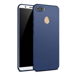 Etui na telefon Huawei P Smart - Slim MattE - Granatowy.
