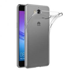Etui na Huawei Y6 2017 - silikonowe, przezroczyste crystal case.