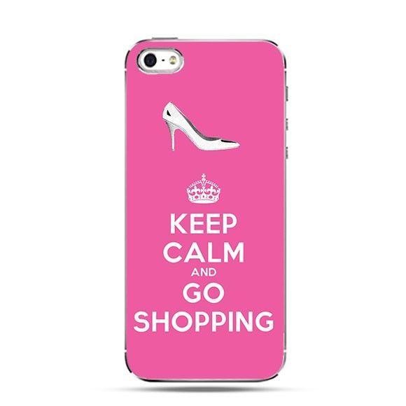 Etui Keep Calm and Go Shopping