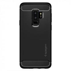 Etui na Samsung Galaxy S9 Plus - Spigen Rugged Armor - Czarny