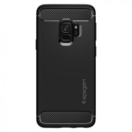 Etui na Samsung Galaxy S9  Spigen Rugged Armor - Czarny