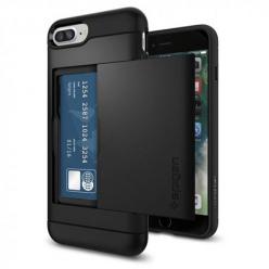 Etui Spigen na iPhone 7 Plus - Slim Armor Czarny