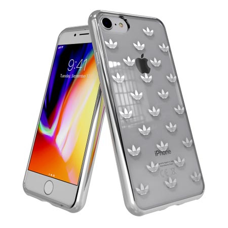 Etui Adidas na iPhone 8 - Clear Case Bezbarwny