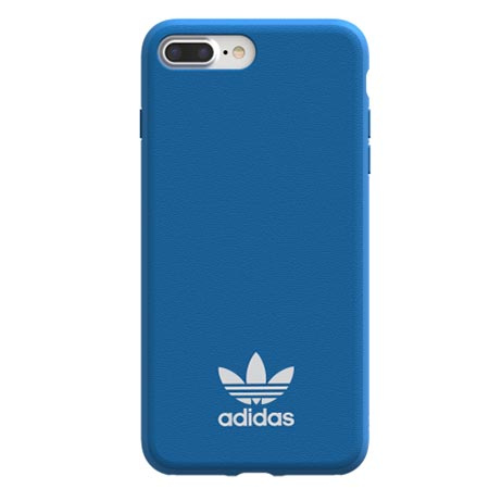 Etui Adidas na iPhone 7 Plus - Moulded Case Niebieski