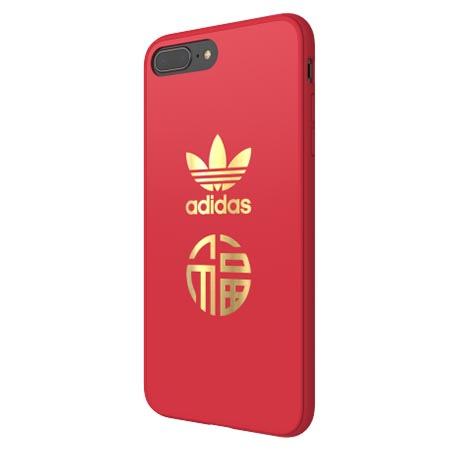 Etui Adidas na iPhone 7 Plus - Moulded Case Czerwony