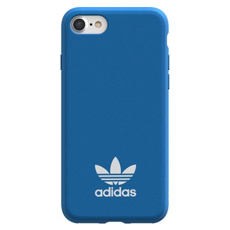 Etui Adidas na iPhone 8 - Moulded Case Niebieski