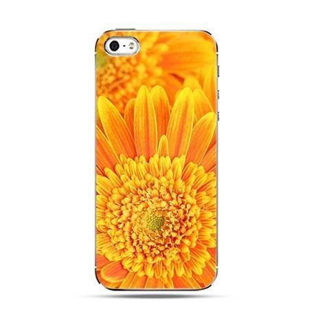 Etui pomarańczowy kwiat
