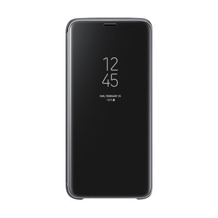 Oryginalne etui na Samsung Galaxy S9 - Clear View Czarny