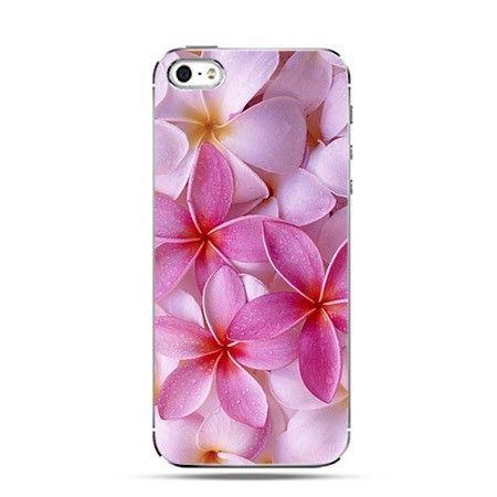 Etui bukiet różowych kwiatów