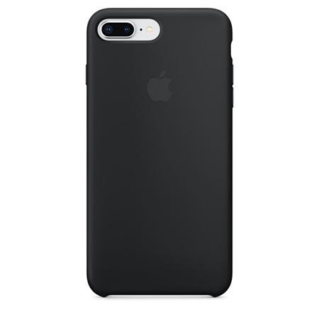 Oryginalne etui Apple na iPhone 8 Plus Silicone Case - Czarny