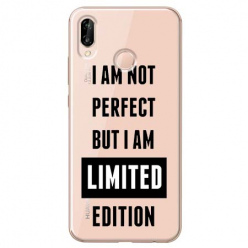 Etui na Huawei P20 Lite - I Am not perfect…