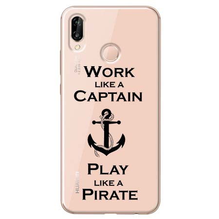 Etui na Huawei P20 Lite - Work like a Captain…