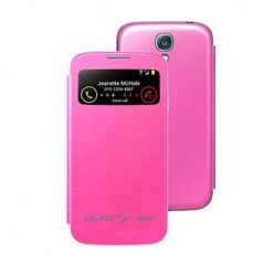 Etui Samsung Galaxy S4 Mini Flip cover S-view - Różowy PROMOCJA !!!