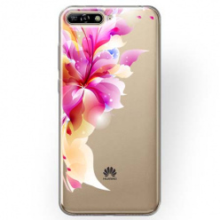 Etui na Huawei Y6 2018 - Bajeczny kwiat.