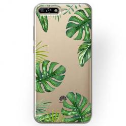 Etui na Huawei Y6 2018 - Egzotyczna roślina Monstera