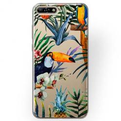 Etui na Huawei Y6 2018 - Egzotyczne tukany.