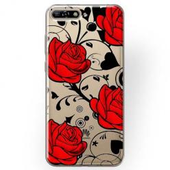 Etui na Huawei Y6 2018 - Czerwone róże.