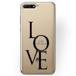 Etui na Huawei Y6 2018 - All you need is LOVE