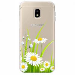 Etui na Samsung Galaxy J3 2017 - Polne stokrotki