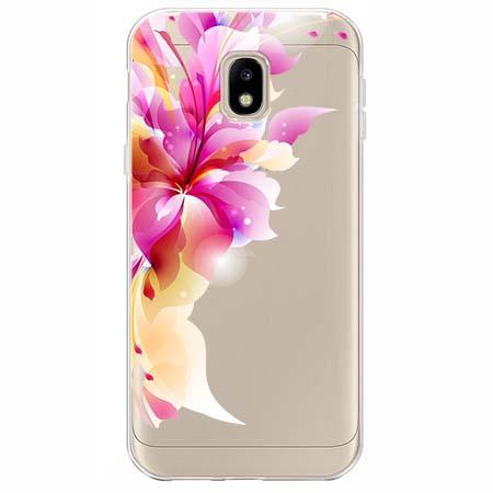 Etui na Samsung Galaxy J3 2017 - Bajeczny kwiat.