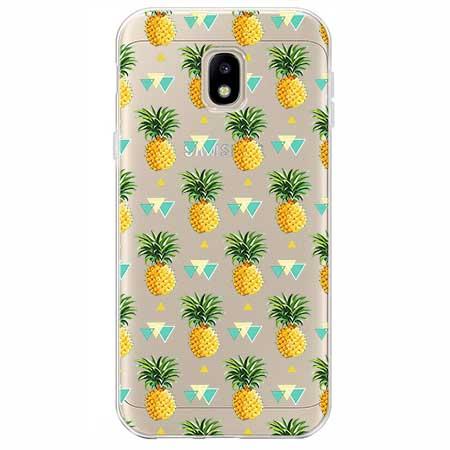 Etui na Samsung Galaxy J3 2017 - Ananasowe szaleństwo