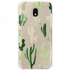 Etui na Samsung Galaxy J3 2017 - Kaktusowy ogród.