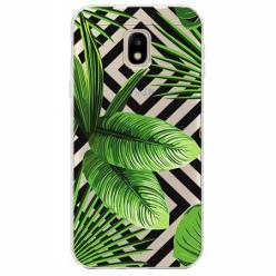 Etui na Samsung Galaxy J3 2017 - Egzotyczne liście bananowca