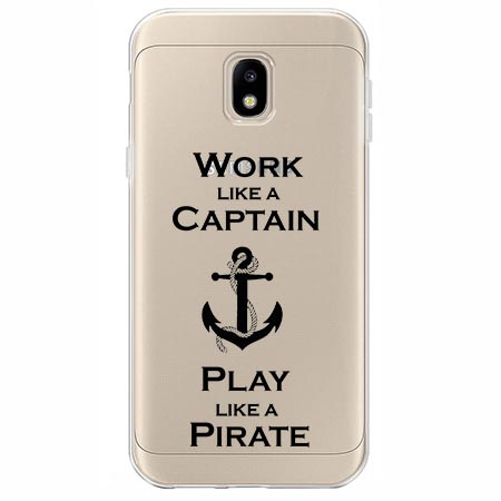 Etui na Samsung Galaxy J3 2017 - Work like a Captain…