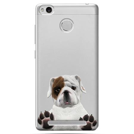 Etui na Xiaomi Redmi 3S - Słodki szczeniaczek.
