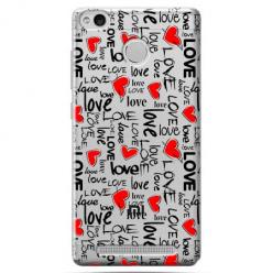 Etui na Xiaomi Redmi 3S - Love, love, love…