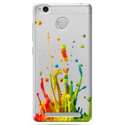 Etui na Xiaomi Redmi 3S - Kolorowy splash.