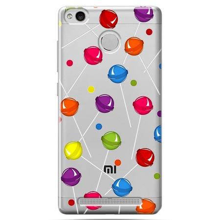Etui na Xiaomi Redmi 3 Pro - Kolorowe lizaki.
