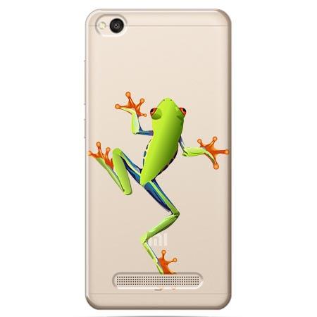 Etui na Xiaomi Redmi 4A - Zielona żabka.