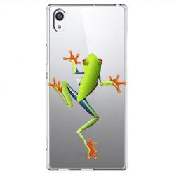Etui na Sony Xperia XA1 - Zielona żabka.