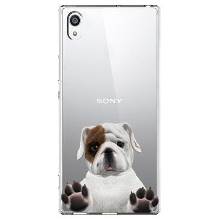 Etui na Sony Xperia XA1 - Słodki szczeniaczek.