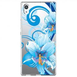 Etui na Sony Xperia XA1 - Niebieski kwiat północy.