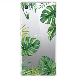 Etui na Sony Xperia XA1 - Egzotyczne roślina monstera.