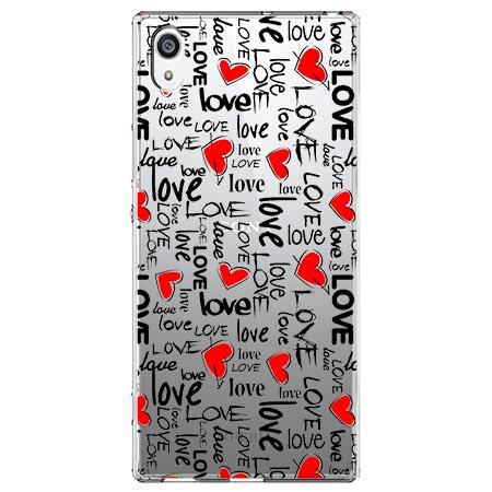 Etui na Sony Xperia XA1 - Love, love, love…