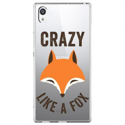 Etui na Sony Xperia XA1 - Crazy like a fox.