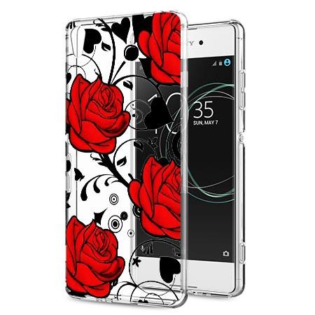 Etui na Sony Xperia XA1 - Czerwone róże.