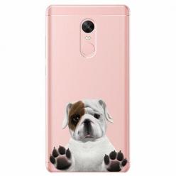 Etui na telefon Xiaomi Note 4X - Słodki szczeniaczek.