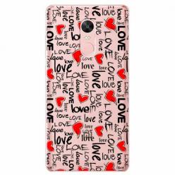 Etui na telefon Xiaomi Note 4X - Love, love, love…