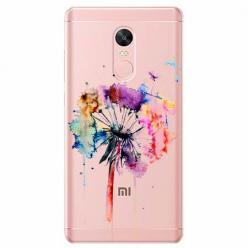 Etui na telefon Xiaomi Note 4X - Watercolor dmuchawiec.