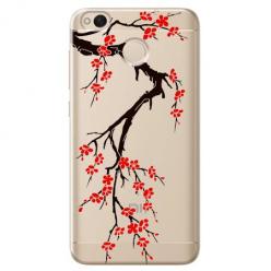 Etui na telefon Xiaomi Note 5A - Krzew kwitnącej wiśni.