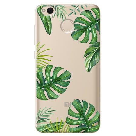 Etui na telefon Xiaomi Note 5A - Egzotyczne roślina monstera.