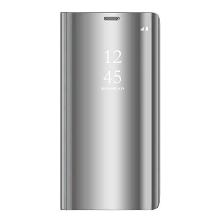 Etui na Samsung Galaxy S9 - Flip Clear View z klapką - Srebrny.