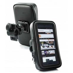 Uchwyt na telefon Sakwa na rower rozmiar XL - czarny.