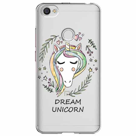 Etui na Xiaomi Note 5A Prime - Dream unicorn - Jednorożec.